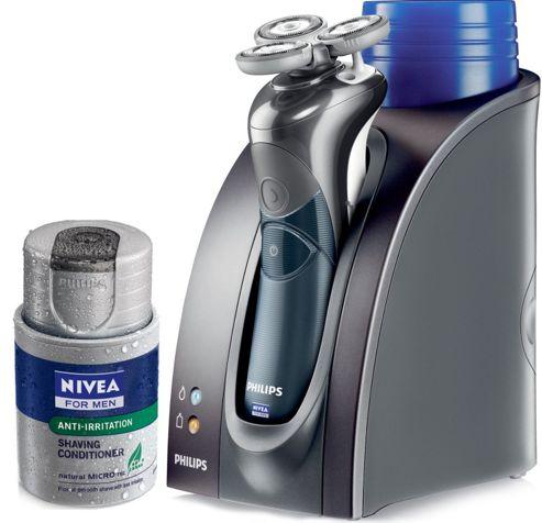 Philips Phillishave HS8460 Nivea Coolskin Rechargeable Shaver