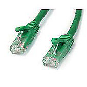 StarTech RJ45 15 m Gigabit Snagless UTP Cat6 Patch Cable - Green