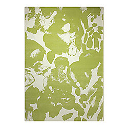 Esprit Energize Green Woven Rug - 160 cm x 225 cm (5 ft 3 in x 7 ft 5 in)