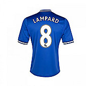 2013-14 Chelsea Home Shirt (Lampard 8) - Kids - Blue