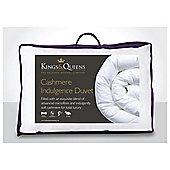 Kings & Queens Cashmere Indulgence 4.5 Tog Duvet, Double