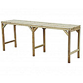 "Hercules Greenhouse Staging/Bench Wooden 8ft long x 22"" wide"