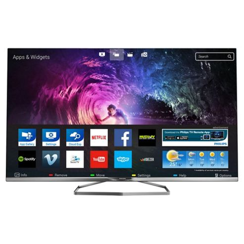 buy philips 55pft6309 55 inch ambilight 3d smart wifi built in full hd 1080p led tv with. Black Bedroom Furniture Sets. Home Design Ideas
