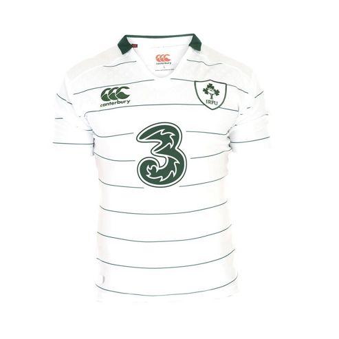 New Ireland Rugby Alternate Pro S/s Shirt - White - White