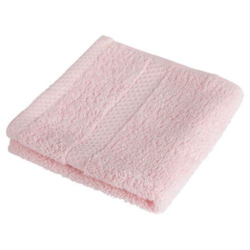 Tesco 100% Combed Cotton Face Cloth Candy