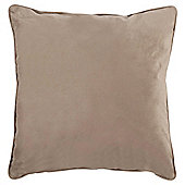Bellucci Velvalux Cushion Taupe
