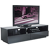 UK-CF High Gloss Black Cabinet For TVs up to 60 inch