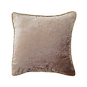 McAlister Velvet Cushion Cover - Beige, Silky Touch