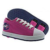 Heelys Fresh Fuchsia/Navy Kids HX2 Heely Shoe - Pink