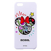 Doodle Me Minnie Mouse Personalised iPhone 6 cover