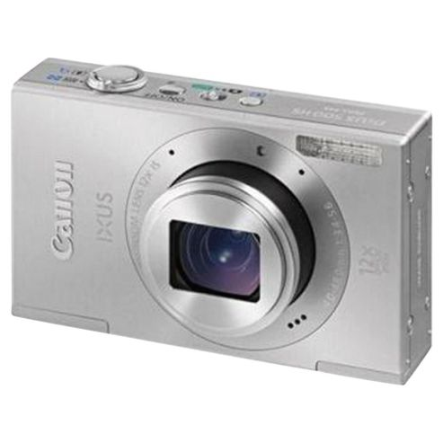 Canon Ixus 500 HS Silver Digital Camera