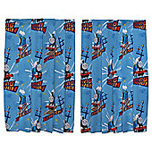 "Thomas the Tank Engine Curtains W168xL137cm (66x54"")"