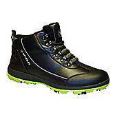 Stuburt Mens C-XP Winter Golf Boots in 10 Black & Lime