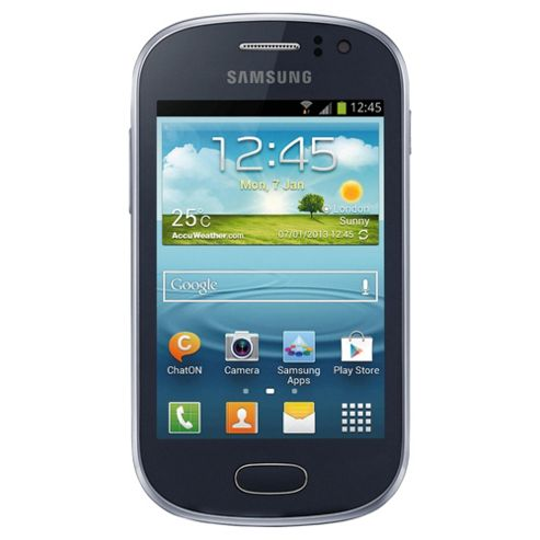 Orange Samsung Galaxy Fame Blue