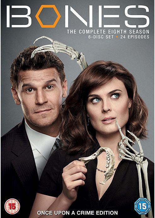Bones Seasons 8 (DVD Boxset)