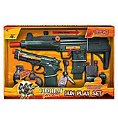 Combat Mission Gun Play Set With Realistic Gun Sound