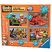 Bob The Biulder 4 In a Box (12,16,20,24 Pieces) - Ravensburger