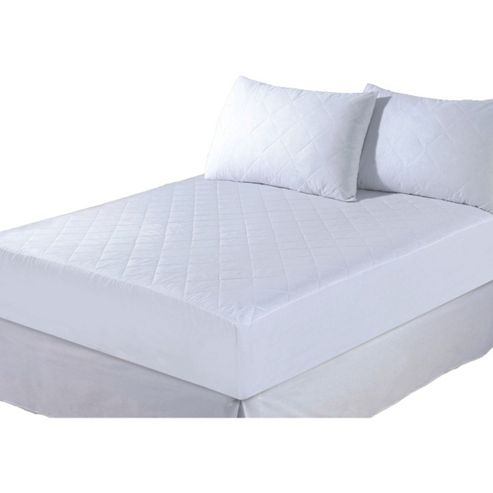 Quilted Mattress Protector Non Allergenic Double