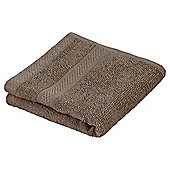 Tesco Pure Cotton Face Cloth Mocha