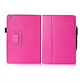 Orzly Stand & Type Case with Penloop for iPad Air - Pink