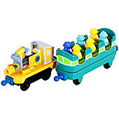 Chuggington - Training Cars - Die Cast Metal Engine - Learning Curve