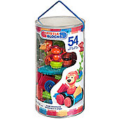 Bristle Blocks 54 Piece Jungle Tube