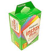 Fuji Instax Film Twin Pack (20 Pics) ISO 800