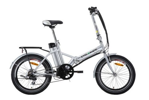 Buy Cyclamatic Ebike Folding E-Bike Electric Bicycle from