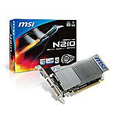 N210-MD1GD3H/LP - GeForce 210; PCI Express x16 2.0; 1024MB DDR3; 64 bits; Dual-link DVI x 1; HDMI x 1; D-Sub x 1