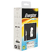 Energizer Lightening Cable & 2.1amp In-Car charger