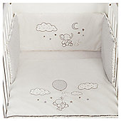Tesco Elephant Cot Bumper Set