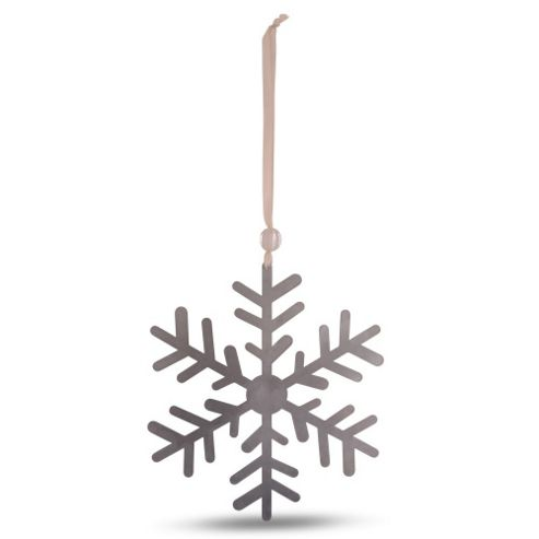 Small Metal Snowflake Tree Decoration Design A