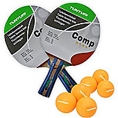 Tunturi Competition Table Tennis Set Bats and Balls