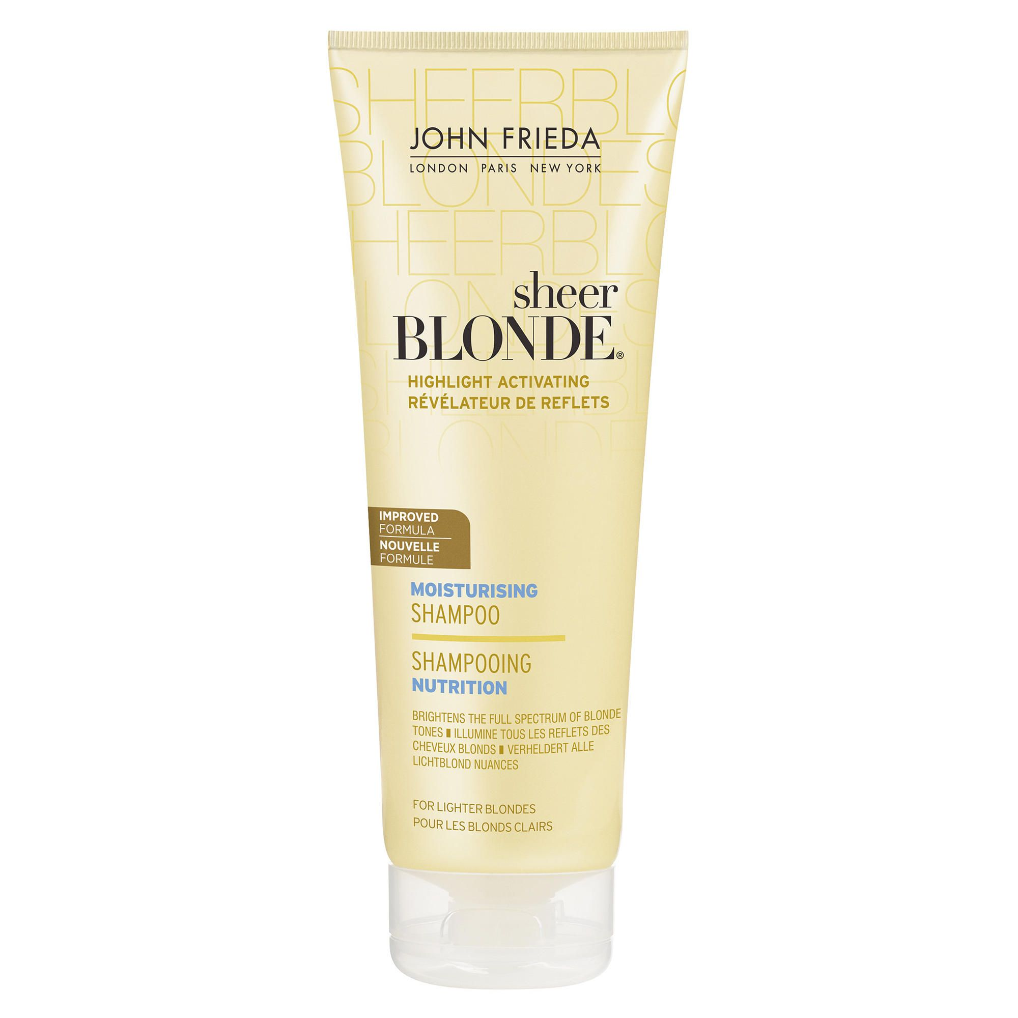 John Frieda Sheer Blonde Moisturising Shampoo for Lighter Blonde 250ml