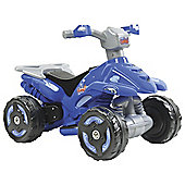 Battery powered quad - blue