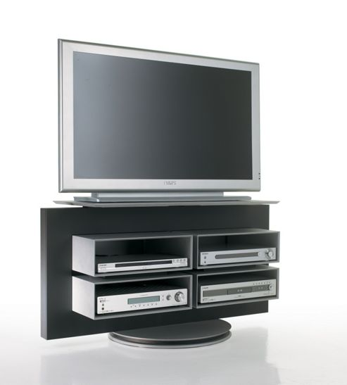 Luke Furniture TV Stand - Dark Grey