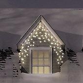240 Warm White LED Multi-Funct Icicle Lights