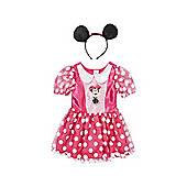 Disney Minnie Mouse Dress-Up Costume - 7-8 yrs