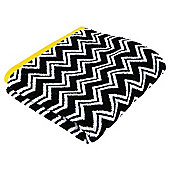 Kingsley Mono Zig Zag Bath Sheet