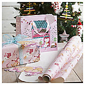 Fairy Christmas Gift Bag, Medium