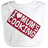 Spoilt Rotten - I Love Mum's Cooking Baby Bib One Size
