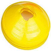 Precision Saucer Cones Yellow (Set of 50)