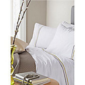 Pied A Terre Louisa Grey Single Duvet Cover Set