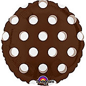 18' MagiColor Dots Brown (each)