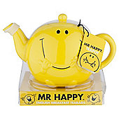 Mr Men Mr Happy Teapot