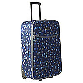 Constellation 2-Wheel Suitcase, Blue Dots Medium