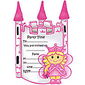 Fairy Princess Party Invitation Cards (8pk)