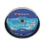 Verbatim 700 MB 80 min 52x 10 Pack CD-R