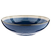 Tesco Blue Lagoon Porcelain Pasta Bowl