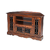 Maharaj Indian Rosewood Corner TV Unit